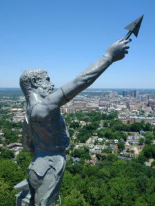 Statue of Vulcan, Red Mountain, Birmingham Photo courtesy of the Vulcan Organization