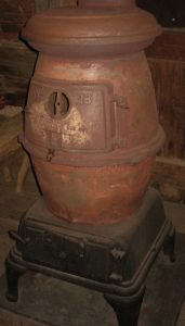 Potbelly stove, courtesy of Museum of Appalachia