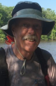 Bill Hines, paddler extraordinair