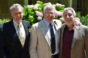 Craig (L-R), Denny, and Ken Dennis, Dorothy's sons