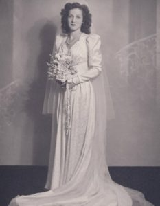 Dorothy's wedding photograph