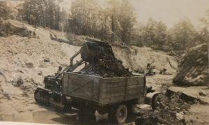 Dad's strip mine, Altoona, AL, late 1940s or early 1950s.