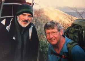 Wade Rawlins, L, Rob Waters, my hiking partners