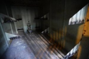 This is an eight-person cell in the old Mecklenburg County jail. Both photos were published last March by The Charlotte Observer.